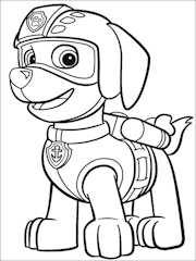 De 50 Dibujos Para Colorear De La Patrulla Canina
